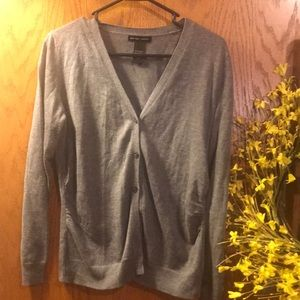 New York and Co gray cardigan